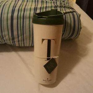 K Spade coffee cup